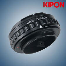 Kipon Adapter with Focus Helicoid for Canon FD Mount Lens to Sony E NEX A7R2