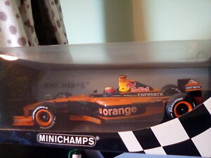 Minichamps 1:18  Rare, Arrows, Enrique Bernoldi No.21, show car