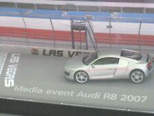 Audi R8 V10 Press/Launch/Media Event *2007* Modell Set/Box/Kit Herpa Scenix 1:87