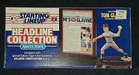 1993 Starting Lineup Tom Glavine Atlanta Braves SLU MLB Baseball Headline NIB 93