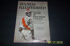 1957 Sports Illustrated HORSE Racing Eddie ARCARO Worlds Greatest NO LABEL Newst