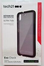 Lot of (2) Tech21 HTC Desire 626/626S Evo Check Cases (Smokey Black) T21-4470