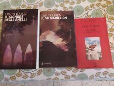 Libri tolkien il signore degli anelli+Silmarillion+lo Hobbit