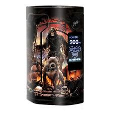 Skin Decal for Wismec Reuleaux RX Gen 3 Vape / Grim Reaper Pitbull Skulls