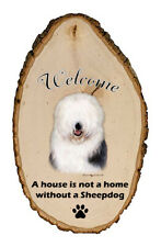 Outdoor Welcome Sign (Tb) - Old English Sheepdog 51129