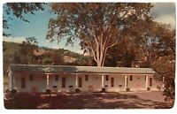 The Motel At Norwich Inn, Route 5, Norwich, Vermont VT Postcard - August 25 1965
