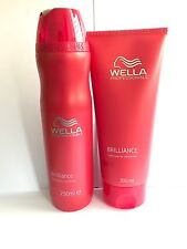 WELLA BRILLIANCE Shampoo and Conditioner for colored hair
