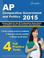 AP Comparative Government and Politics 2015: Review Book for AP Comparative Gove
