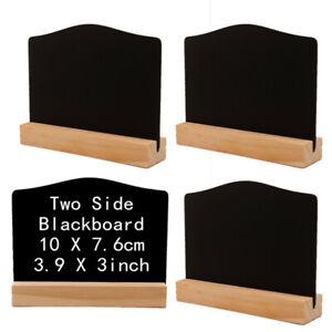 Mini Blackboard Holder Memo Sign Message Small Note Chalk Board Stand Wedding