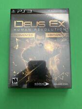 Deus Ex: Human Revolution Augmented Edition *New* PS3 (Sony PlayStation 3, 2011)