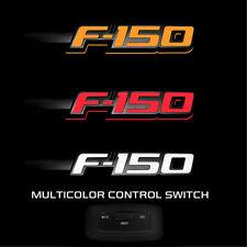 Ford F150 RECON LED Lighted Fender Emblems Fit 2009-2014 Black Trim