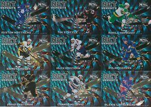 U PICK EM LOT 2020-21 20-21 Skybox Metal Universe Net Deposits Insert card set