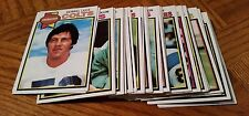 1979 TOPPS FOOTBALL GROUP of 44 CARDS - VERY GOOD to EXCELLENT CONDITION