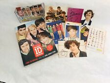 One Direction Dare To Dream Life As Book Collection 6 PhotoCards ChecklistBundle