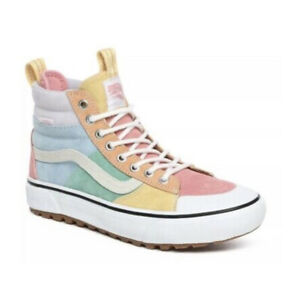 Vans Sk8 Hi Mte 2.0 Dx Pastel Pink Multi True White Sneaker Boot Women's Size 5