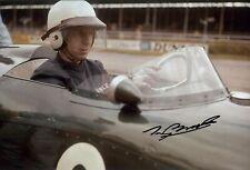Tony Brooks BRM P48/57 Silverstone International Trophy 1961 Signed Photograph