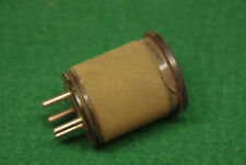Bud LO Coil Plug-In RF Inductor Silver Marshall Co 5 Pin UY Base