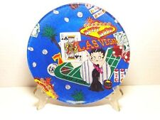 BETTY BOOP PLATE #18 LAS VEGAS DESIGN 8 INCHES ROUND