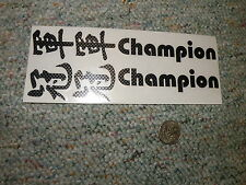 Decals / Stickers R/C radio Controlled RC Japanese Champion  BB6
