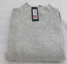 Marks and Spencer Hip Length Viscose Long Sleeve Jumpers & Cardigans for Women