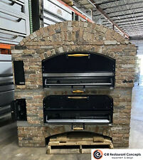 Used Marsal Mb 60 Stacked Gas Deck Type Pizza Bake Oven