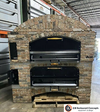 Used Marsal MB60 STACKED Gas DeckType Pizza Bake Oven