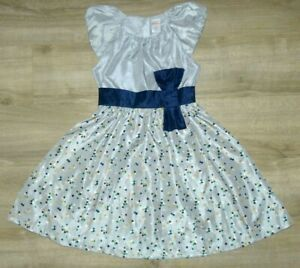 New Girl's 10 GYMBOREE Silver Navy Blue Green Gold Dot Fancy Christmas Dress