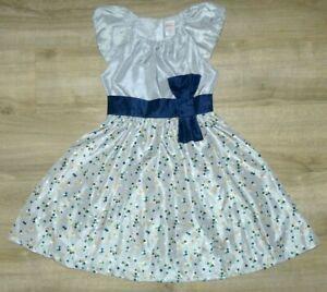 New Girl's 10 GYMBOREE Silver Navy Blue Green Gold Dot Fancy Christmas Dress
