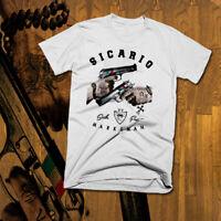 Sicario T-Shirt  Drug Cartel Deadly Assassin Hitman New cotton tee