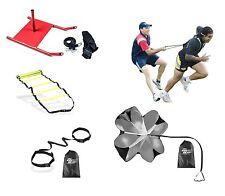 Crossfit Training Bundle Kit Ladder,Sled,Parachute,Evasion Belt & Power Resistor