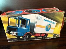 VINTAGE 60s 70s EAST GERMAN MSB GDR TIN TOY TRUCK 2063 BOXED