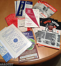 NORTHAMPTON TOWN ONLY 1ST DIVISION SEASON | SET OF 27 PROGRAMMES | ALL LISTED