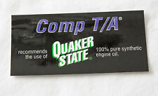 OEM GM SLP Pontiac Comp T/A Quaker State Underhood Oil Decals