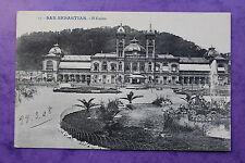 Carte posatle ancienne SAN SEBASTIAN - El Casino