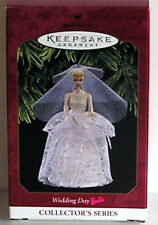 Hallmark Keepsake ornament WEDDING DAY BARBIE 1997 4TH series