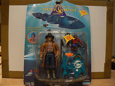 "VINTAGE ORIGINAL SEAQUEST DSV THE REGULATOR 5"" ACTION FIGURE MOC PLAYMATES 1993"