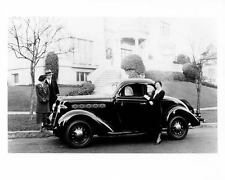 1935 Plymouth PJ Coupe Factory Photo c4414-LZ2FGV