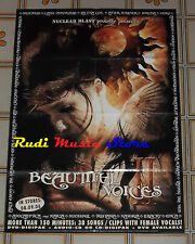 POSTER PROMO BEAUTIFUL VOICE II (VOL.2) 84 X 59,5 cm EPICA-THERION-MOONSPEIL ...