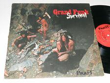 GRAND FUNK Survival Capitol SW-764 album vinyl rock railroad