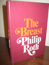 1st Edition THE BREAST Philip Roth NOVEL First Printing FICTION Novella