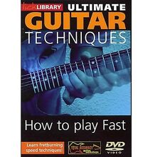 Lick Library Ultimate Techniques Play Guitar Fast DVD