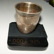 Antique Silver Cup Eygpt Hallmarked 900 Silver 1918 -1942