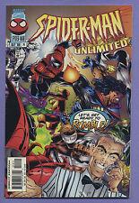 Spider-Man Unlimited #14 1996 Night Watch Glenn Herdling Joe Bennett Marvel v