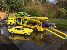 Danbury Mint 1:24 Whites Vintage 4 Car Carrier Transporter Truck MIB