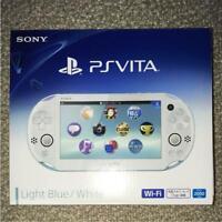 Sony PlayStation PS Vita Slim LIGHT BLUE Slim PCH-2000 ZA14 From Japan F S