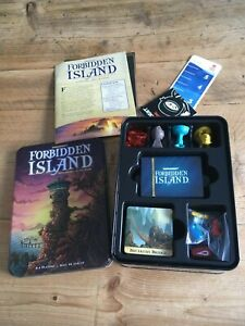 Forbidden Island Gamewright  Adventure Strategy Board Game Mensa Awarded Age 10+