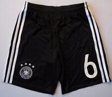 5+/5  GERMANY SHORTS #6 KIDS 11-12 YEARS ORIGINAL SOCCER FOOTBALL ADIDAS AA0145