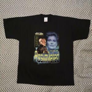Star Trek Voyager T Shirt screenstars tag Kathryn Janeway