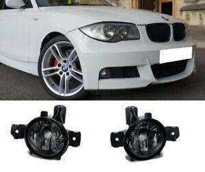 BMW 1 series E82 E87 E81 E88 X5 E70 Pair foglamps foglights fogs Smoked UK
