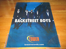 Tower Records Promotional BACK STREET BOYS Poster